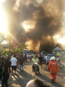 kebakaran sibu kampung Datuk (2)