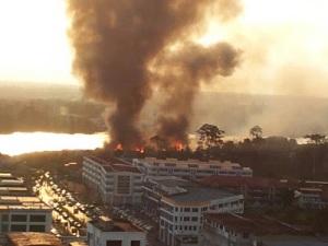 kebakaran sibu kampung Datuk (6)
