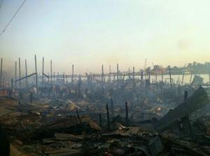 kebakaran sibu kampung Datuk (7)